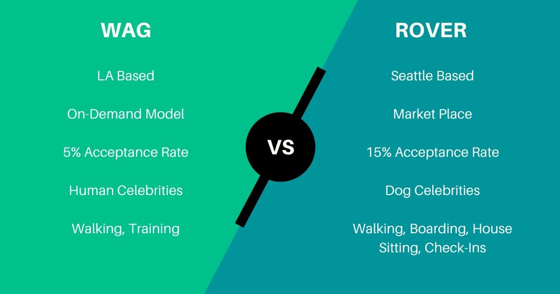 Difference between Wag & Rover